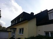 Mit PUR/PIR Dämmung nach Energieeinsparverordnung isolierte Flachdachgaube