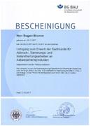 Asbest Sachkundenachweis TRGS 519 Asbestsanierung
